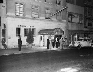 Entrance of The Stork Club